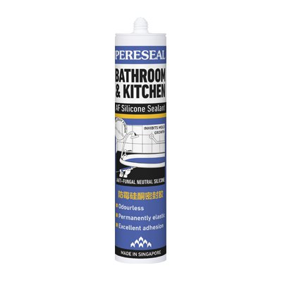 Pereseal AF Bathroom Kitchen Sanitary Silicone