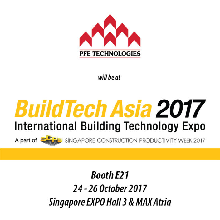 PFE Buildtech Asia Singapore 2017